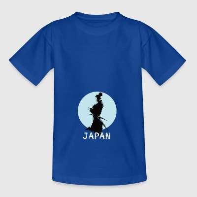 japan ninja manga samurai - Teenager-T-shirt