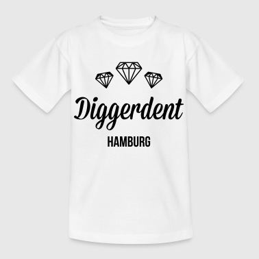 Diggerdent(c) Hamburg Diamonds - Teenager T-Shirt