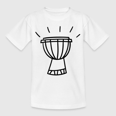 Djembe - African drum - Teenage T-shirt