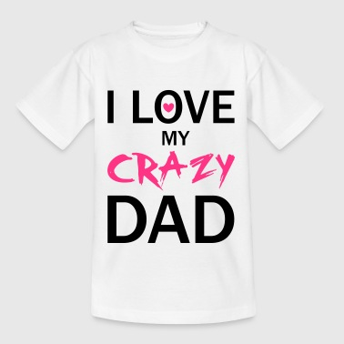 Love Dad - T-shirt tonåring