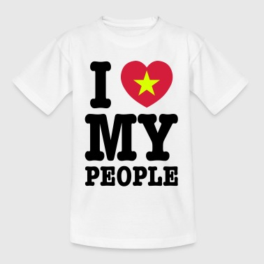 I Heart (Love) My Viet People - Teenage T-Shirt