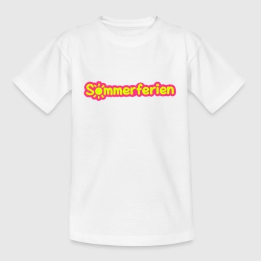 Sommerferien - Teenager T-Shirt