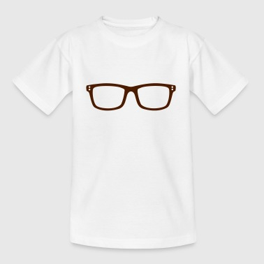Brille - Teenager T-Shirt