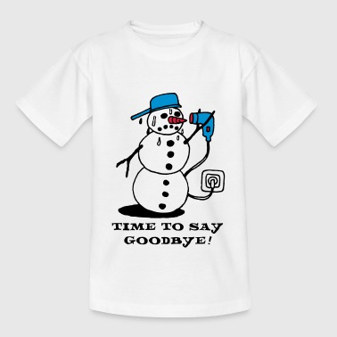 winter_ade_weiss - Teenage T-shirt