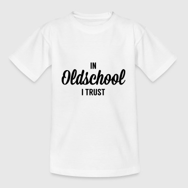 Alte Schule - Teenager T-Shirt