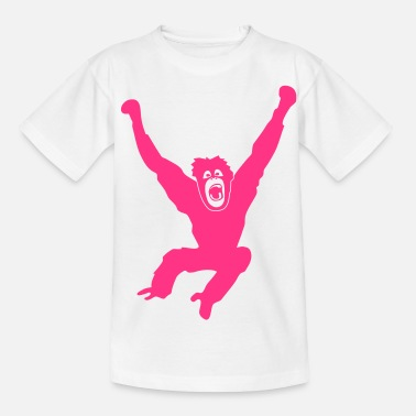 Mafkees aap mafkees chimpansee gorilla orang oetan - Teenager T-shirt
