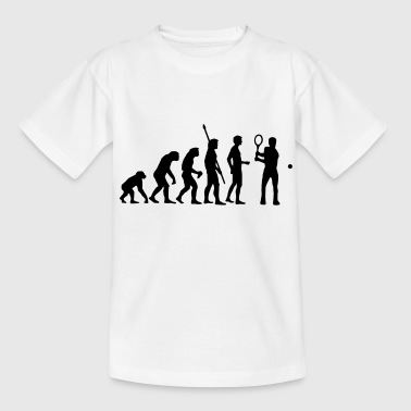 evolution_tennis_c_1c - T-shirt Ado