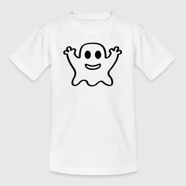 kleiner Geist Gespenst Halloween Horror Grusel  - Teenager T-Shirt
