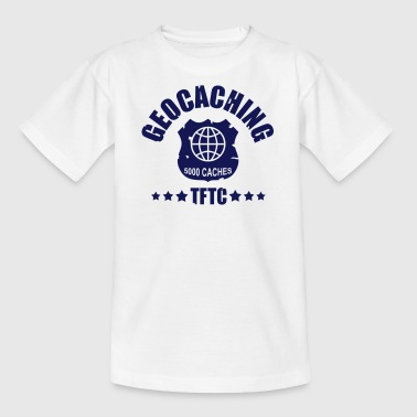 geocaching - 5000 caches - TFTC / 1 color - Teenager T-Shirt