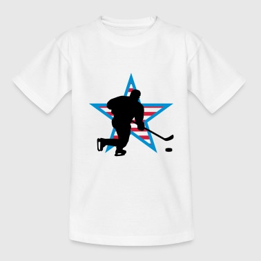 icehockey_star_a_3c - T-shirt Ado