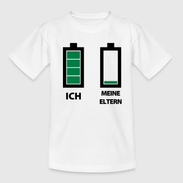 Batteriestand Ich&Eltern - Teenager T-Shirt