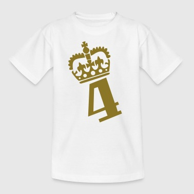 Zahl – 4 - Teenager T-Shirt