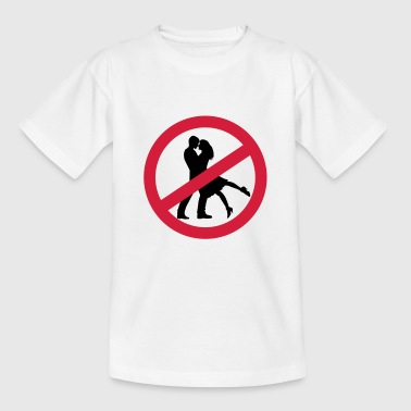 No Valentines Day - Teenager T-shirt