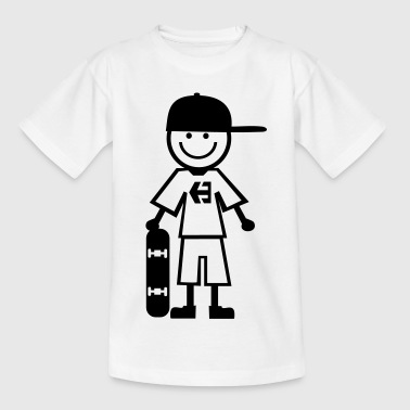 skateboard kid - Camiseta adolescente