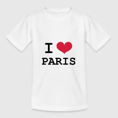 I Love Paris - T-shirt Ado
