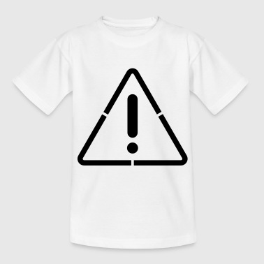 attention sign - Teenager T-shirt