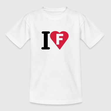 i_love_f_letter - Teenage T-shirt