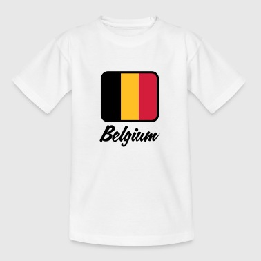 Drapeau national de Belgique - T-shirt Ado