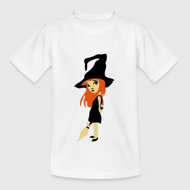 kleine Hexe - Teenager T-Shirt