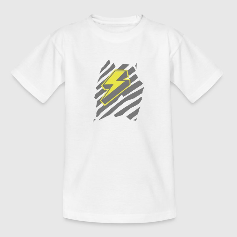 Blitz - Design Superheld / Superhero - Teenager T-Shirt
