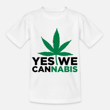 Yes We Cannabis Yes we Cannabis! - T-shirt tonåring