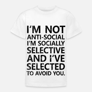Suchbegriff Asozial Spruche T Shirts Online Bestellen Spreadshirt