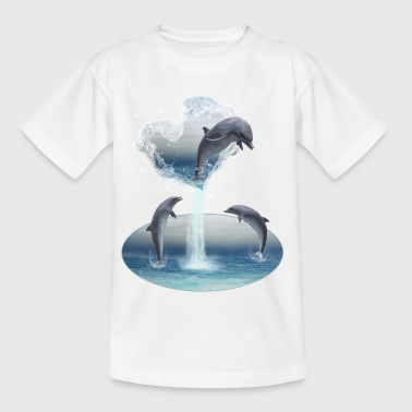 The Heart From The Dolphins - Teenager T-Shirt