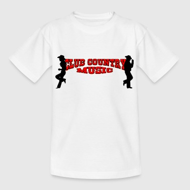 club country music - Teenage T-Shirt