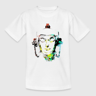 Headset Fire Hydrant design by patjila - Teenage T-Shirt