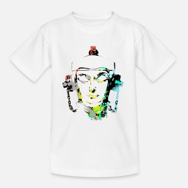 Headset Fire Hydrant design by patjila - Teenager T-Shirt