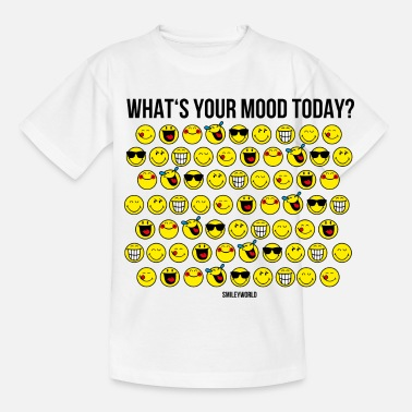 Emoticon SmileyWorld Your Mood Today Collection - Maglietta per ragazzi