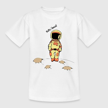 Astro Weltall.png - Teenager T-Shirt