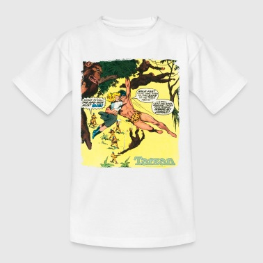Tarzan Rettet Jane Vor Jägern Comic - Teenager T-Shirt