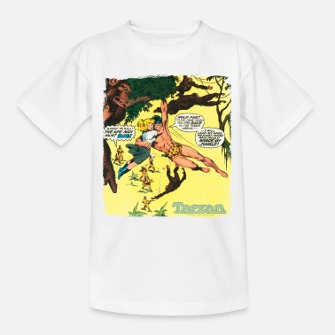 Tarzan Tarzan Jane Old Comic Cover - Teenage T-Shirt
