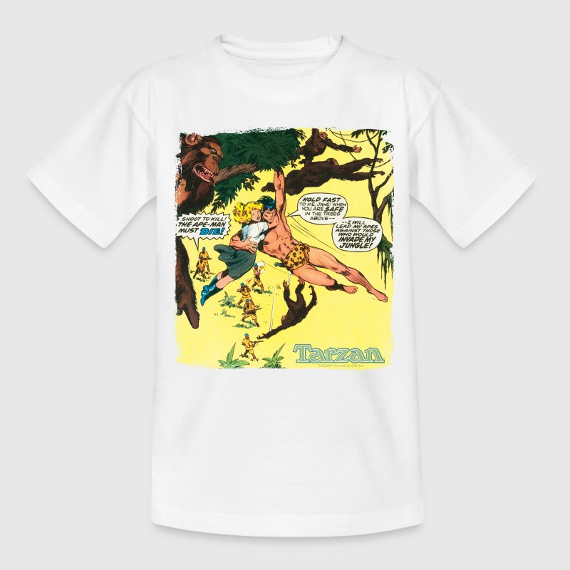 Tarzan Jane Old Comic Cover - Teenage T-shirt