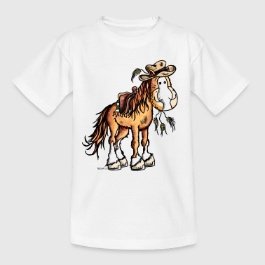 Westernpferd on Tour - Teenager T-Shirt