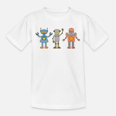 Kid Robot Robot kunstmatige intelligentie Kid komische AI blad - Teenager T-shirt