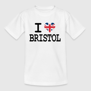 Bristol City i love Bristol - Teenage T-Shirt