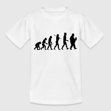 Fortgang Evolution der Dicken - Teenager T-Shirt