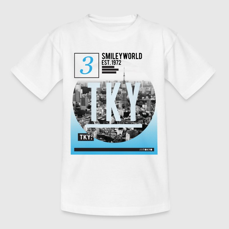 SmileyWorld Tokio Skyline - Teenage T-shirt