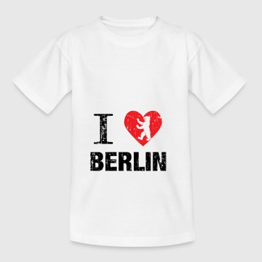 Berlin TV Tower Capital Tyskland Gift - T-shirt tonåring