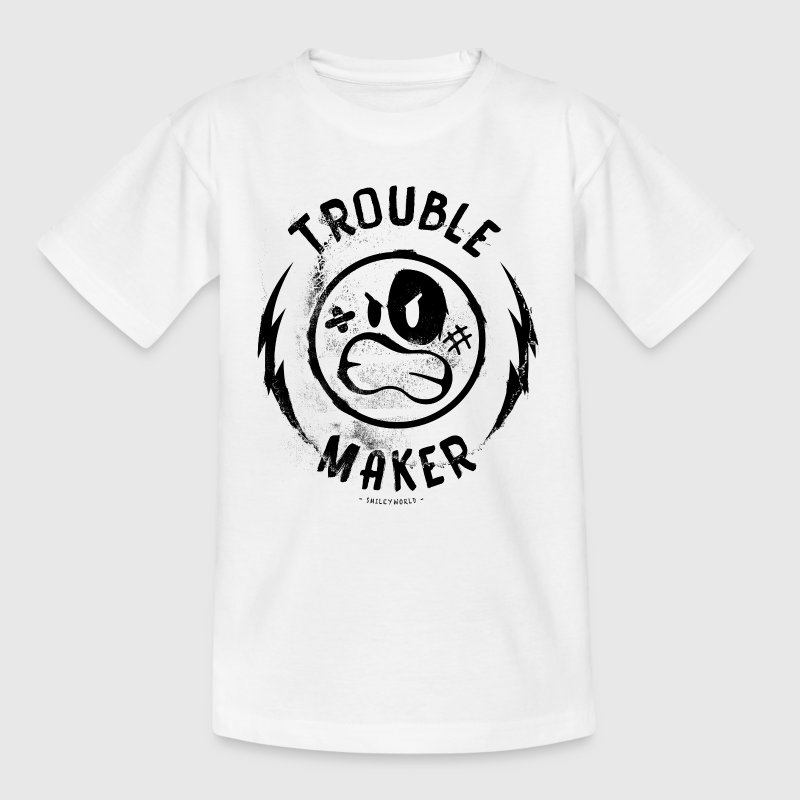 SmileyWorld Fauteur Trouble Maker - T-shirt Ado