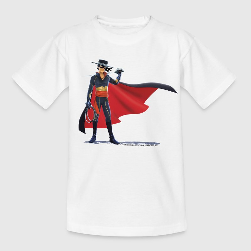 Zorro The Chronicles With Sword And Whip - T-shirt tonåring