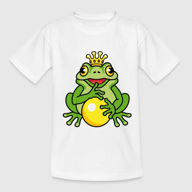 Frog King (e) - Teenager T-Shirt