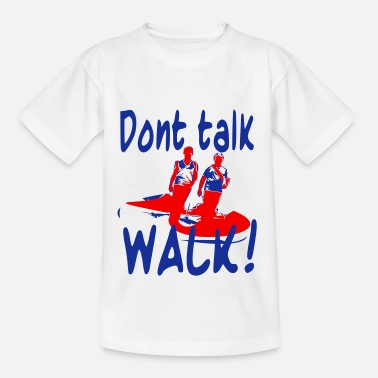 Wandelsport Run - Teenager T-shirt