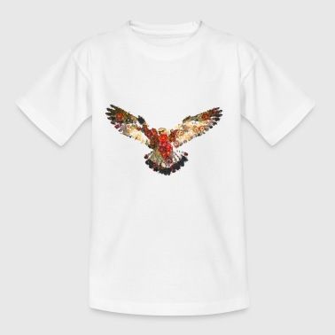 Vintage peregrine falcon - Teenage T-Shirt