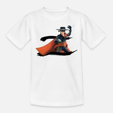 Zorro Chronicles Zorro The Chronicles Masked Hero And Letter Z - Teenage T-Shirt