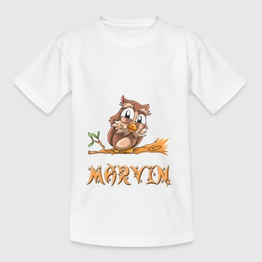 Eule Marvin - Teenager T-Shirt