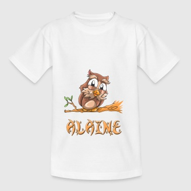 Eule Alaine - Teenager T-Shirt