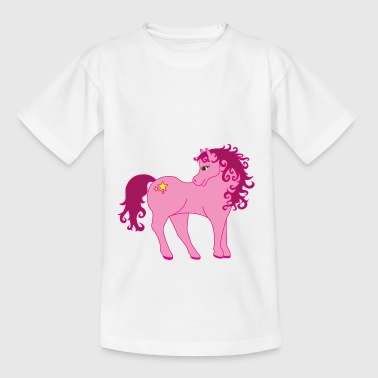 Ponies Pony - Teenage T-Shirt